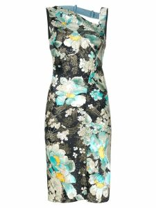 Christian Dior Pre-Owned floral print dress - Multicolour