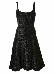 Stephen Sprouse Pre-Owned tinsel effect dress - Black