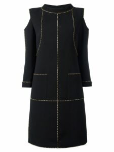 Chanel Pre-Owned cut-out shift dress - Black