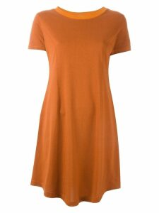 Romeo Gigli Pre-Owned flared T-shirt dress - Yellow