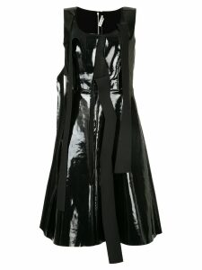 Comme Des Garçons Pre-Owned pinafore dress with tear detailing - Black