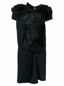 Comme Des Garçons Pre-Owned abstract ruffle dress - Black
