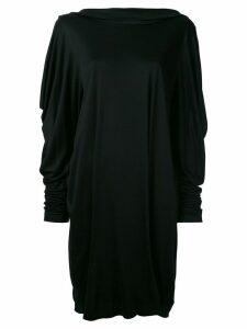 Jil Sander Pre-Owned cowl back dress - Black