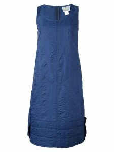 Walter Van Beirendonck Pre-Owned boiled effect A-line dress - Blue