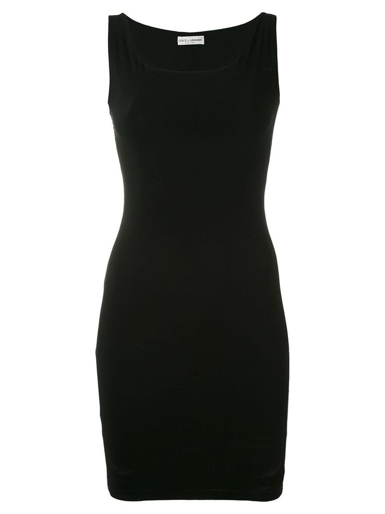 Dolce & Gabbana Vintage D & G Dress - Black