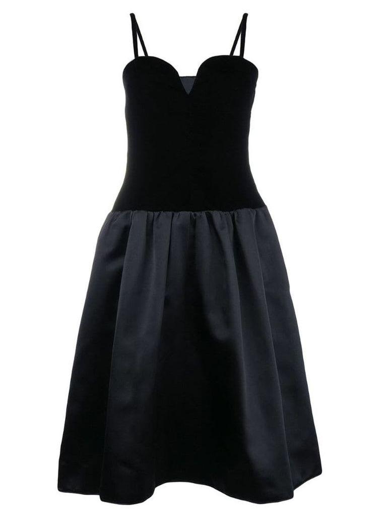 Yves Saint Laurent Vintage corset dress - Black