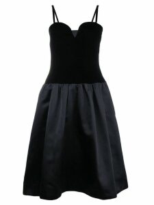 Yves Saint Laurent Pre-Owned corset dress - Black