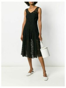 A.N.G.E.L.O. Vintage Cult floral lace dress - Black