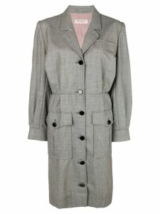 Yves Saint Laurent Pre-Owned blazer dress - Grey