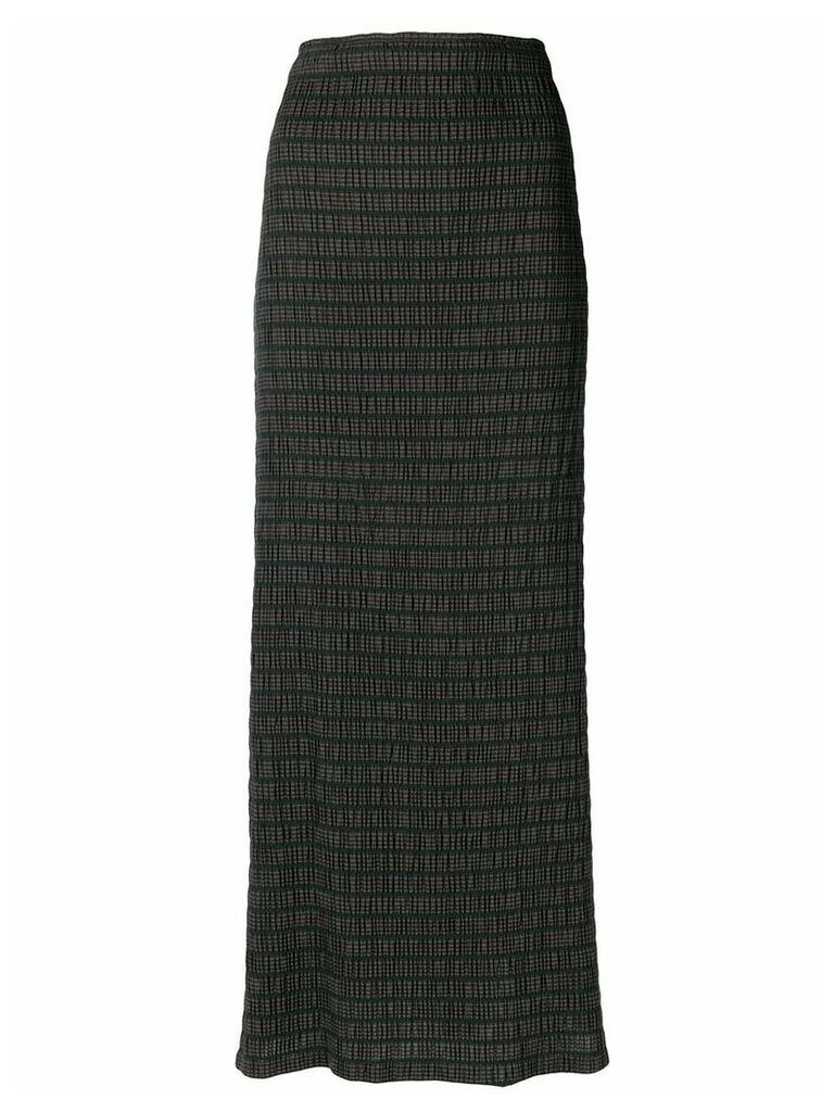 Romeo Gigli Vintage strapless dress - Black