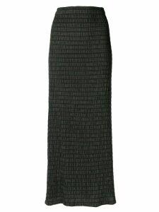 Romeo Gigli Pre-Owned strapless dress - Black