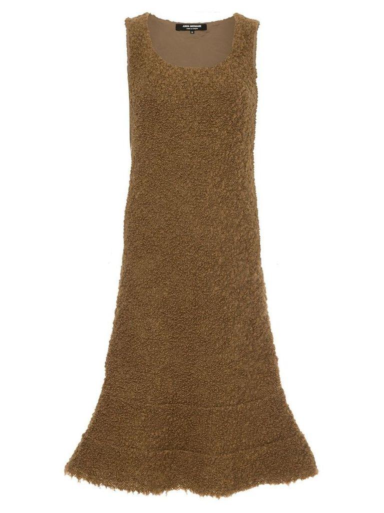 Junya Watanabe Comme Des Garçons Vintage sleeveless mini dress - Brown