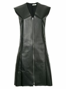Céline Pre-Owned sleeveless zipper dress - Black