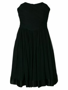 Guy Laroche Pre-Owned Guy Laroche strapless dress - Black