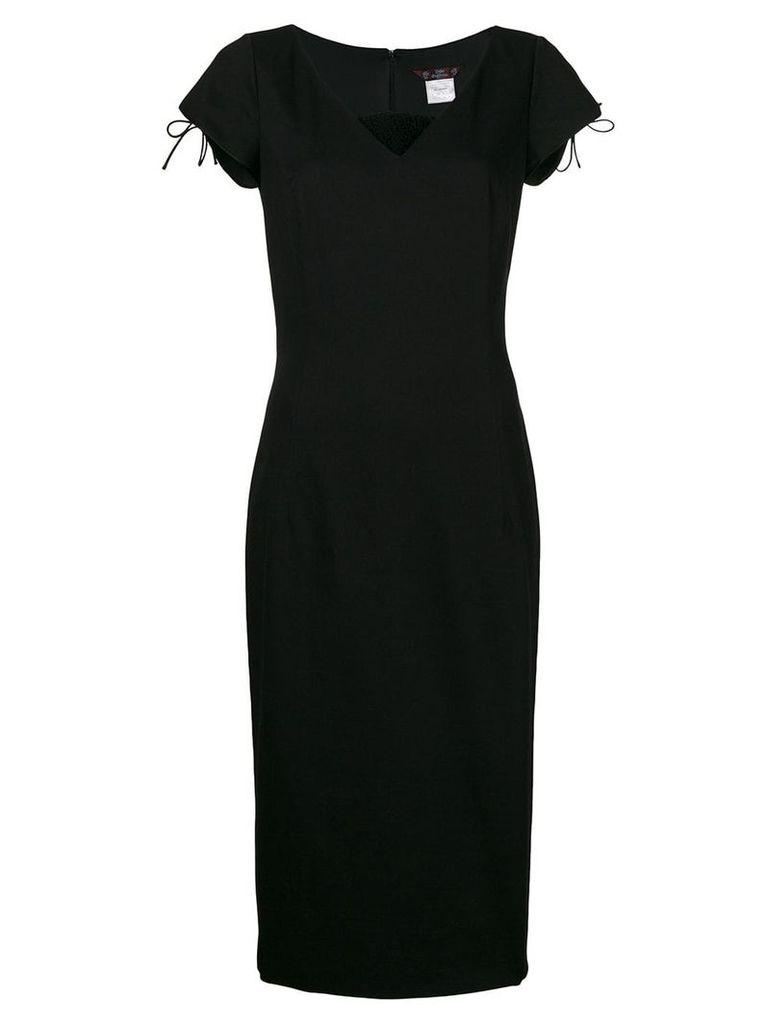 John Galliano Vintage princess line dress - Black