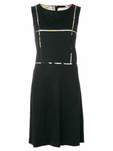 EMILIO PUCCI PRE-OWNED sleeveless shift dress - Black