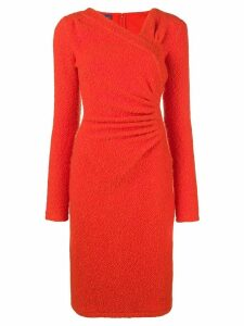 Emanuel Ungaro Pre-Owned fitted knit dress - Yellow