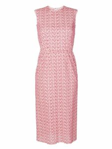 Comme Des Garçons Pre-Owned lace sleeveless dress - Pink