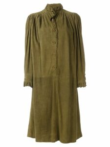 Emanuel Ungaro Pre-Owned ruffled dress - Green
