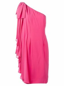 Jean Louis Scherrer Pre-Owned one shoulder dress - Pink