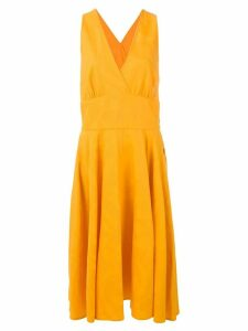 Yves Saint Laurent Pre-Owned mid-length dress - Orange