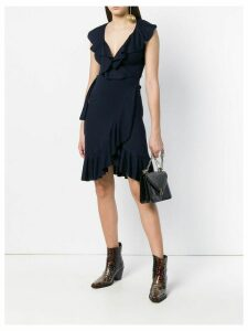 Valentino Pre-Owned ruffled dress - Blue