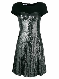Moschino Pre-Owned sequinned bodice dress - Black