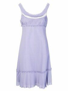 GIORGIO ARMANI PRE-OWNED empire line short dress - Pink