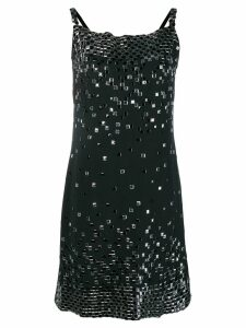 Chanel Pre-Owned embellished straight dress - Black