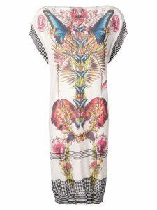 Jean Paul Gaultier Pre-Owned kaleidoscope print dress - White