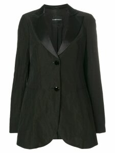 GIORGIO ARMANI PRE-OWNED classic fitted blazer - Black
