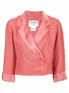 Chanel Pre-Owned wrap tweed jacket - Pink