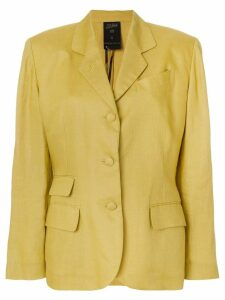 Jean Paul Gaultier Pre-Owned classic blazer jacket - Yellow