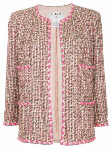 Chanel Pre-Owned knitted jacket - Pink