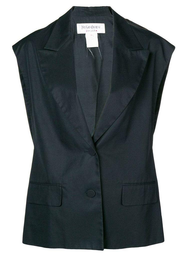 Yves Saint Laurent Vintage classic waistcoat - Black