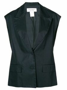 Yves Saint Laurent Pre-Owned classic waistcoat - Black