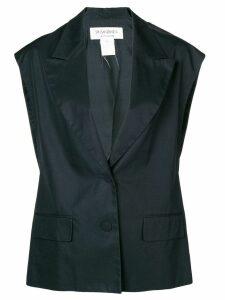 Yves Saint Laurent Pre-Owned classic waistcoat - Black
