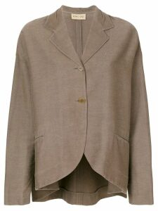 Romeo Gigli Pre-Owned long sleeve blazer - Brown