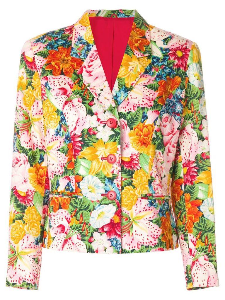 Kenzo Vintage floral print blazer - Multicolour