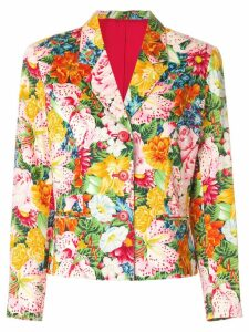 Kenzo Pre-Owned floral print blazer - Multicolour