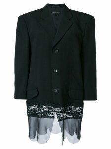 Comme Des Garçons Pre-Owned buttoned blazer - Black