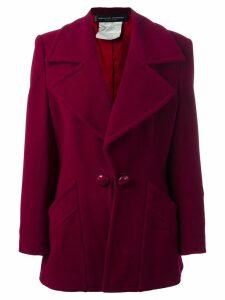 Jean Louis Scherrer Pre-Owned boxy jacket - Pink