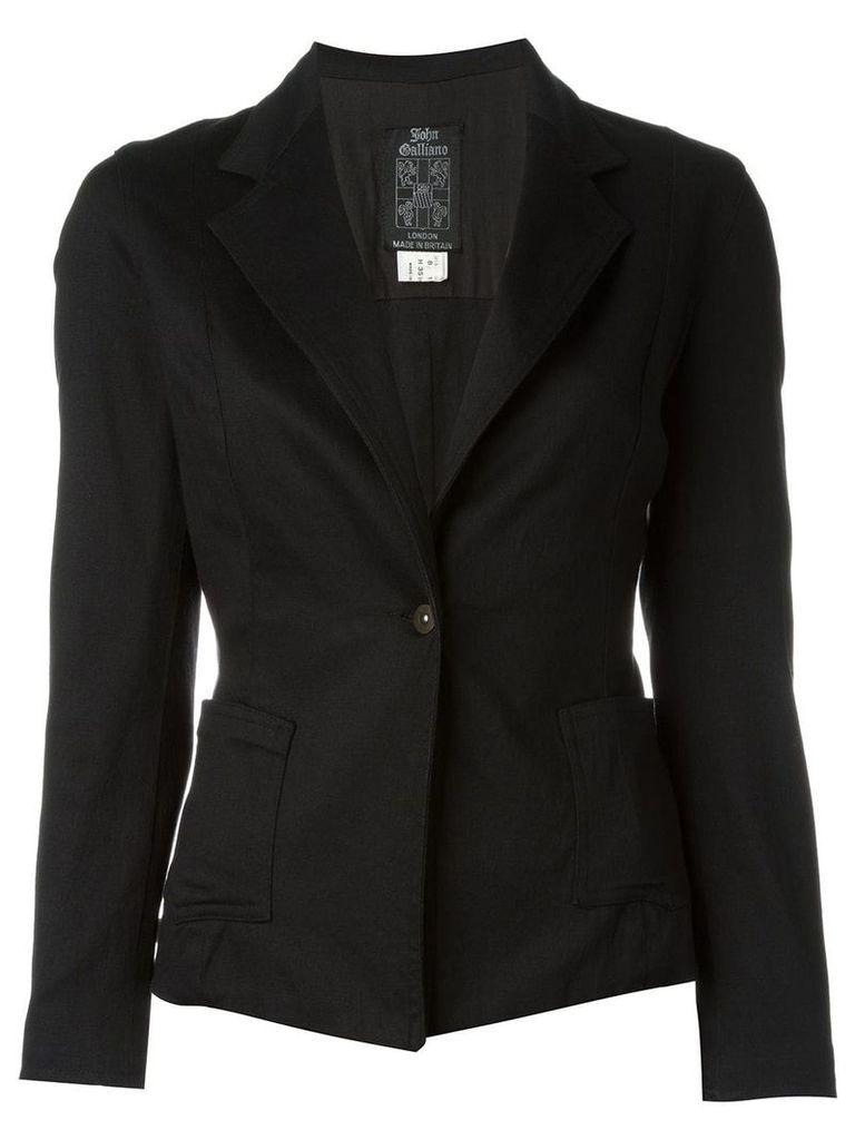 John Galliano Vintage classic blazer - Black