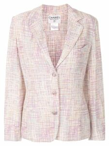 Chanel Pre-Owned boucle knit jacket - Pink