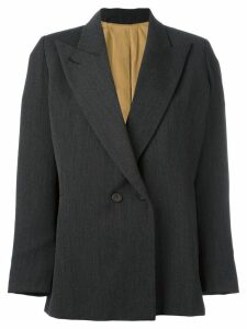 Jean Paul Gaultier Pre-Owned peaked lapel blazer - Grey
