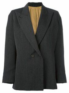 Jean Paul Gaultier Pre-Owned peaked lapel blazer - Grey