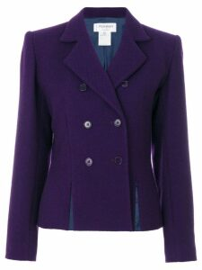 Yves Saint Laurent Pre-Owned double breasted jacket - Purple