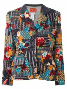 Kenzo Pre-Owned flower printed jacket - Multicolour