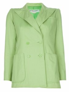 Yves Saint Laurent Pre-Owned Pastel blazer - Green