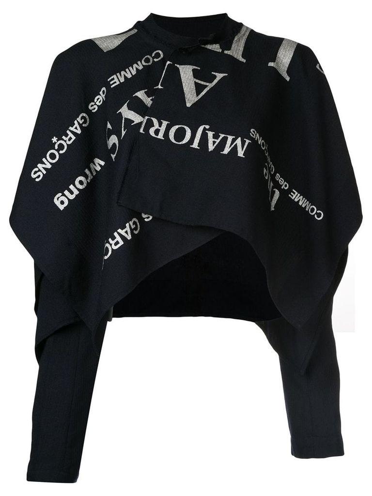 Comme Des Garçons Vintage Conformity blazer - Black